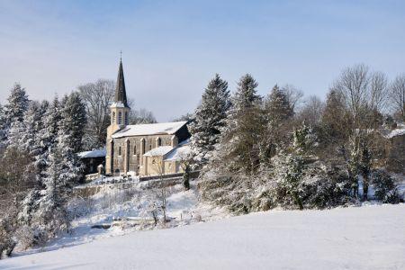 Eglise-en-hiver
