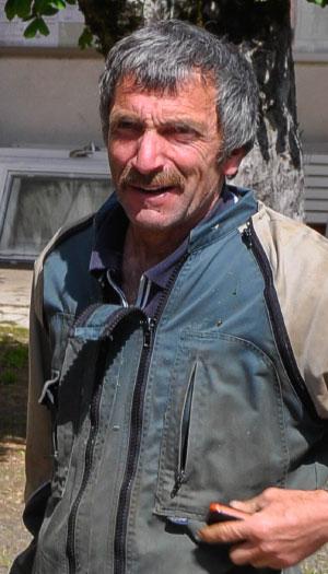 Bernard Azaïs, employé communal