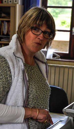 Véronique Davy, secrétaire de mairie